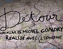 Détour - a short film shot on iPhone by Michel Gondry