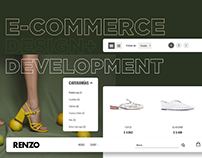 eCommerce Shoes | Magento | Renzo Rainero