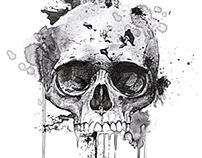 T-shirt Graphics,Animal Print,Skull Art,Leopard Pattern