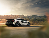 McLaren 600LT Retouching Project