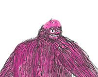 Balding Bigfoot