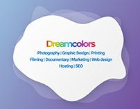 Dreamcolors Creative Studios Ltd branding pt 1
