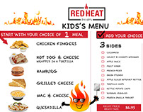 Printable menu