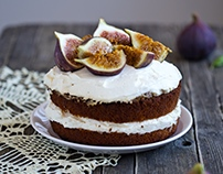 Honey Fig Cake