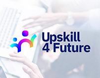 Upskill 4 Future - Branding Logo and development