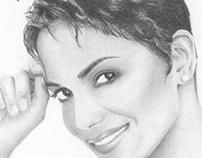 Halle Berry a Lápis