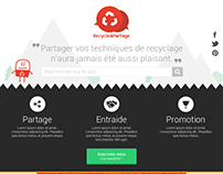 Webdesign - Recycle&Partage