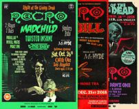 Necro – Concert Posters