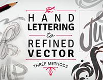Hand Lettering to Refined Vector on Skillshare