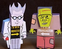 Frankenstein and his monster
