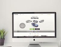 Site corporativo // ŠKODA - Arquitectura y contenidos
