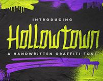 Hollowtown - Handwritten Graffiti