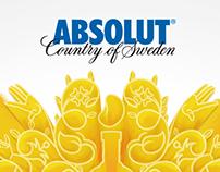 Print / Absolut / Flavour Campaign