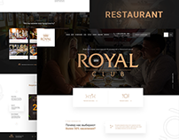 Royal Club - Website