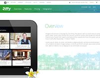 Jiffy Hospitality Website