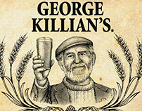 George Killian's Irish Red Illustrated by Steven Noble