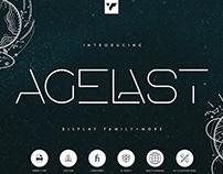 FREE ! Agelast display family + Graphics