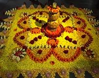 Rangoli for Diwali Celebrations at Dolce & Gabbana