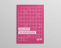 Irma Boom. The book design