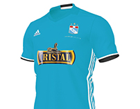 Sporting Cristal Football Kit
