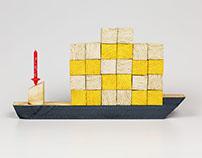 Floating blocks