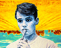 Chet Baker 'Summer Sketch' By Ross Clements