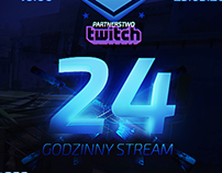 Stream Advertisement + 24h Giveaway Screen!