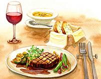 Illustrations for CSV Website of Kirin Co., Ltd.