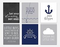 Nursery Posters - Typography