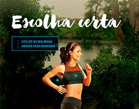Lupo/Revista Boa Forma - Infográfico Interativo