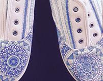 ::In The Sky-Shoe Design::