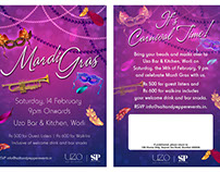 Invitation Design for Meeting, Seminar, Party, Wedding