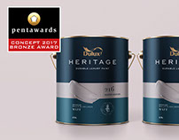 CONCEPT: DULUX Heritage packaging design concept