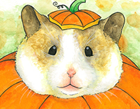 "Plumpkin ""Act Natural"" Illustration"