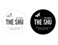 The Shu Candle package design