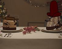 Western Christmas - Cicciotun greetings 2019