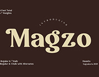 Magzo - Font Family