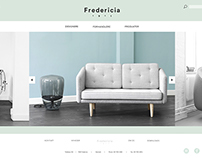 "Webdesign for ""Fredericia Furniture"""