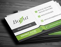 Boyut Business card