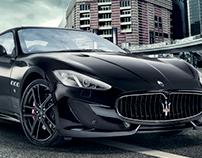 Maserati: Print ads