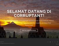 Corruptant : Corruption Watch Website