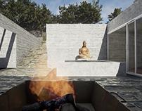 Unreal engine Archviz : yoga center