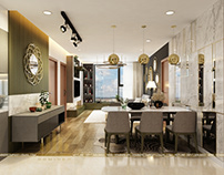 Thiết kế nội thất chung cư EcogreenCity chú Cường