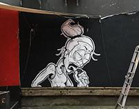 Molotow Club Mural