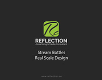 STREAM BOTTLES , PRODUCT DESIGN PROPOSAL