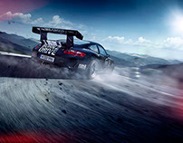 BORN2DRIVE Porsche 997 GT3 CUP, France