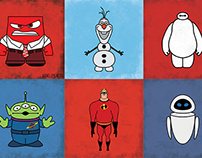 Minimal Disney•Pixar