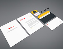 Freebie - Branding Stationery Mockup