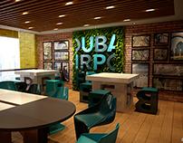 DAFZA - Creative room office (Concept A ) - Dubai, UAE