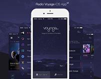 Radio Voyage | iPhone App (UI/UX)
